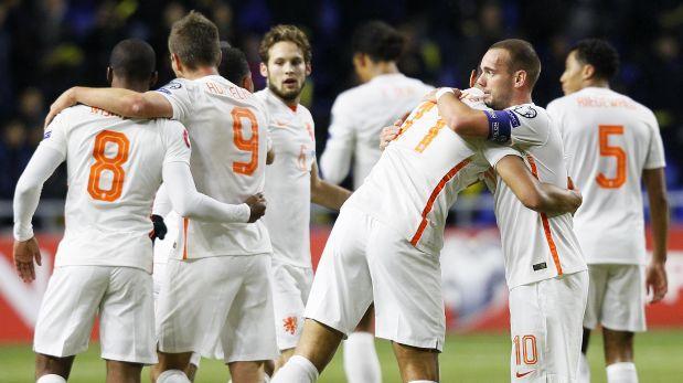 Holanda necesita de un milagro para clasificar a la Eurocopa