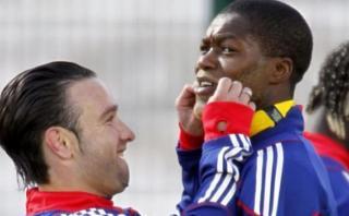 Francia: Cissé fue arrestado por chantaje sexual a Valbuena