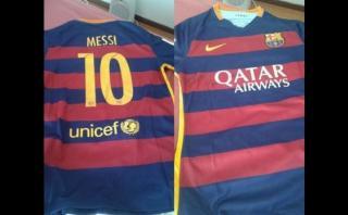 Lionel Messi le regaló camiseta a jugador que lesionó Tevez