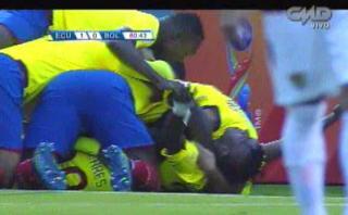 Ecuador: gol con pared perfecta abrió el triunfo ante Bolivia