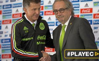 Osorio será el técnico de México rumbo a Rusia 2018 [VIDEO]