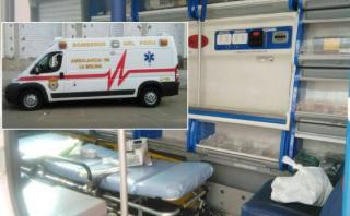 Bomberos alertan sobre mercado negro de equipos médicos robados