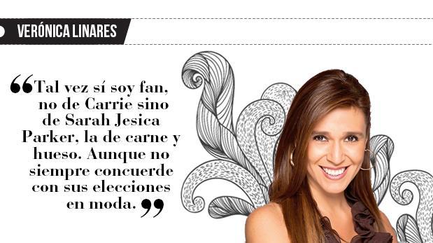 """Verónica Linares: """"Persona y personaje"""""""