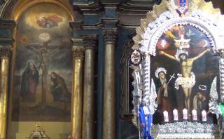Señor de los Milagros: el mural más famoso del Perú [VIDEO]