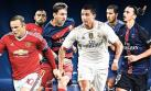 Champions League: guía TV de los ocho partidos de la semana
