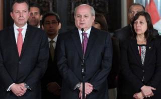 Pedro Cateriano: el fujimorismo no apoyará su interpelación