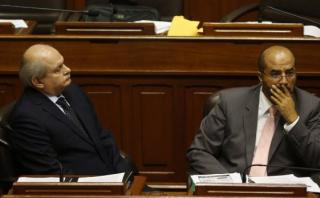 Presentan moción para interpelar a Cateriano y Pérez Guadalupe