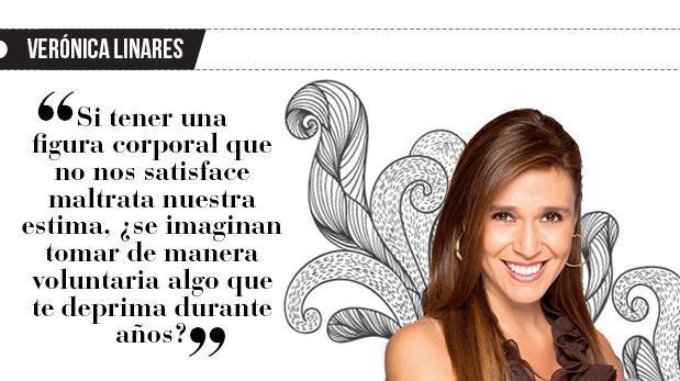 """Verónica Linares: """"Miss simpatía quiere adelgazar"""""""