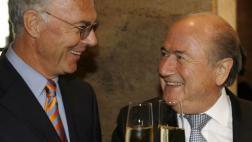 Blatter dice que no pidió plata a Beckenbauer para Mundial 2006