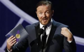 Ricky Gervais volverá a ser el presentador de los Globos de Oro