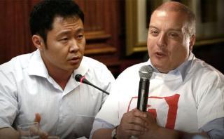 """Kenji Fujimori llama a Milton von Hesse """"candidato del Titanic"""""""
