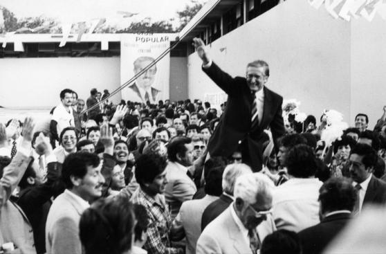 Milton von Hesse busca no repetir historia de estos candidatos