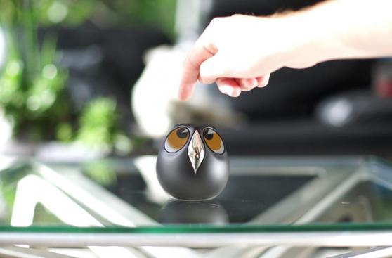 Ulo: la cámara de vigilancia con forma de búho