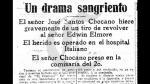 José Santos Chocano dispara a Elmore en El Comercio - Noticias de jose santos chocano