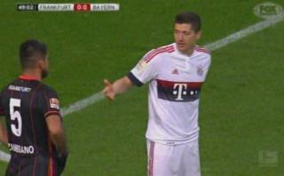 Zambrano: Lewandowski quiso darle la mano y peruano lo ignoró