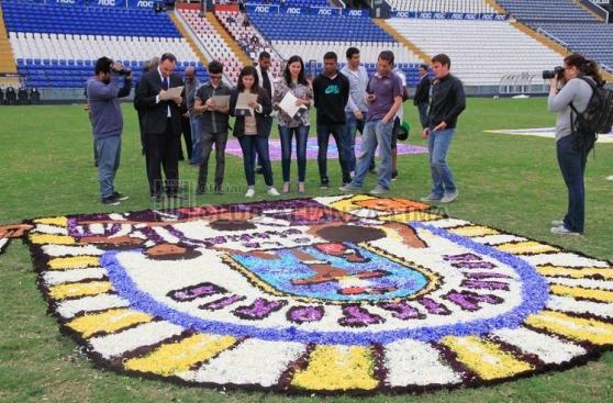 Alianza Lima: alfombras florales por el Señor de los Milagros