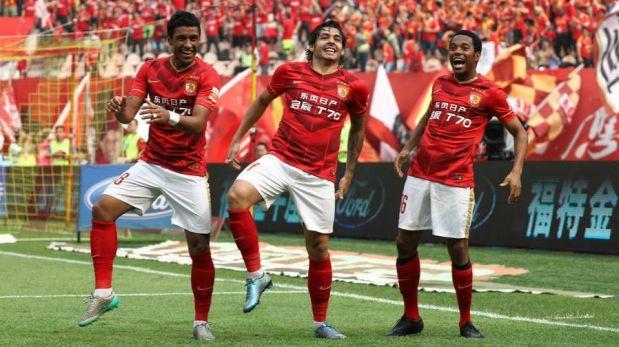Con Robinho y Scolari, Guangzhou logró título de liga de China