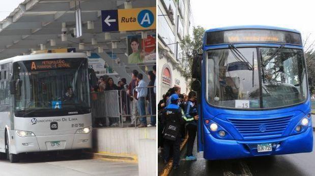 Hoy desvían el Metropolitano y corredor azul por procesión