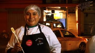 "Conoce a Delia Cahuana: ""Frente a mi parrilla, soy muy fuerte"""