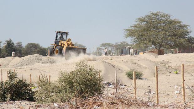 Piura: alistan demolición de cerco ilegal en la huaca El Bosque