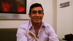 Brandon Altamirano, el joven apasionado por el anticucho