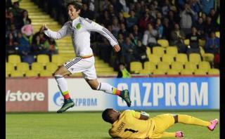 Mundial Sub 17: Golazo 'maradoniano' de lateral de México