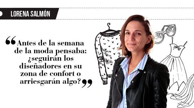 """Lorena Salmón: """"Un paso más hacia adelante"""""""