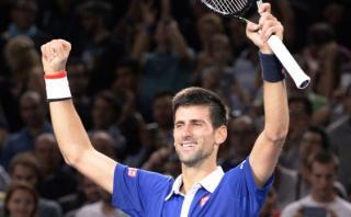Djokovic venció a Murray y ganó el título del Masters de París