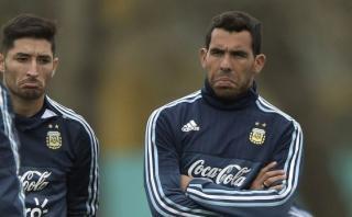 Carlos Tevez fue desconvocado de la selección argentina