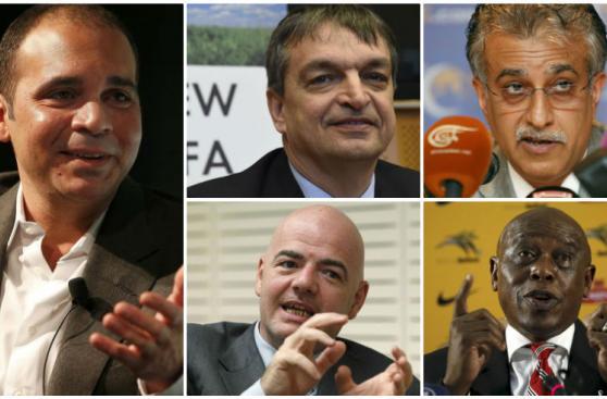 FIFA: conoce a los cinco canditados a la presidencia [FOTOS]