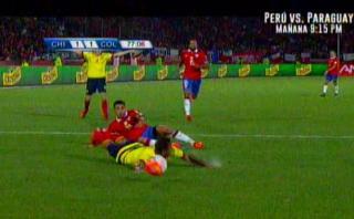 Chile vs. Colombia: ¿Fue penal de Gonzalo Jara sobre Cardona?