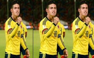 Así celebró James Rodríguez gol de 'guacha' a Chile [VIDEO]