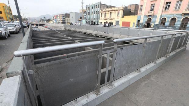 Lima asumirá atención de joven que cayó cerca del Metropolitano