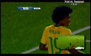Brasil: Willian gambeteó a dos rivales con brillante elástica