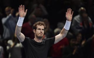 Andy Murray venció a Ferrer en debut de Masters de Londres