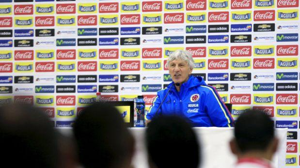 """Pekerman: Colombia le tiene que ganar a Argentina """"sí o sí"""""""