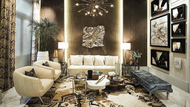 Logra habitaciones glamorosas con una decoraci n de lujo decoraci n casa y m s el comercio - Decoracion casas de lujo ...