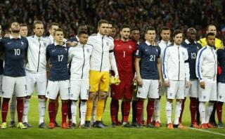 Francia vs. Inglaterra: Wembley entonó La Marsellesa (VIDEO)