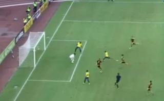 Jefferson Montero y el golazo para 2-0 de Ecuador a Venezuela