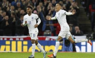 Inglaterra venció 2-0 a Francia en amistoso FIFA en Wembley