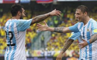 Argentina ganó 1-0 a Colombia en Barranquilla por Eliminatorias