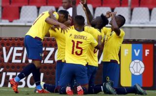 Ecuador imparable: 3-1 de visita a Venezuela en Eliminatorias