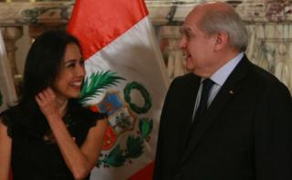 Cateriano: Mi papel no es ser abogado de Nadine Heredia