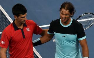 Novak Djokovic venció 2-0 a Rafael Nadal en Masters de Londres