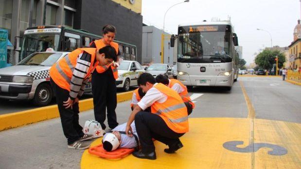 Metropolitano detendrá buses 10 min. por simulacro a las 8 p.m.