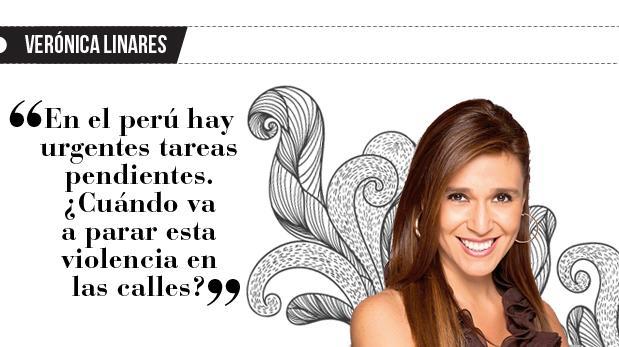 "Verónica Linares: ""Promesas, promesas, promesas"""