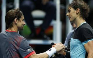 Nadal venció a Ferrer y avanzó invicto en Masters de Londres