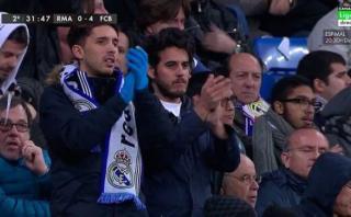 Como Ronaldinho: Iniesta se retiró del Bernabéu entre aplausos