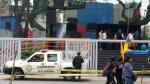Av. Arequipa: sufrió caída de andamio cuando limpiaba academia - Noticias de trilce