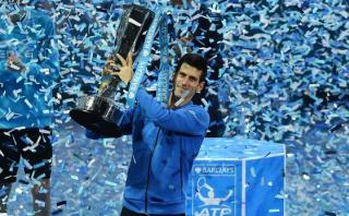 Djokovic venció a Federer y ganó título del Masters de Londres